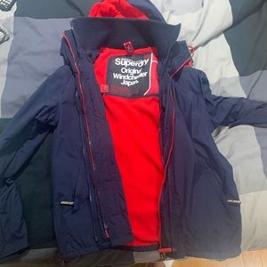 Superdry windcheater jacket!